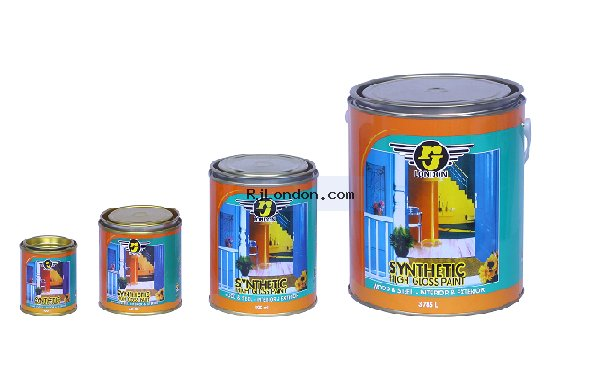 synthetic high gloss paint